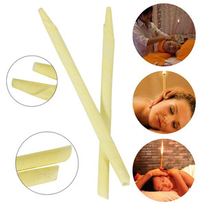 Image 3 - 24 pieces/box Ear Candle 100% Natural Pure Essential Oil Bee Wax Candles Ear Cleaner Wax Removal Ear Care Indiana Fragrance