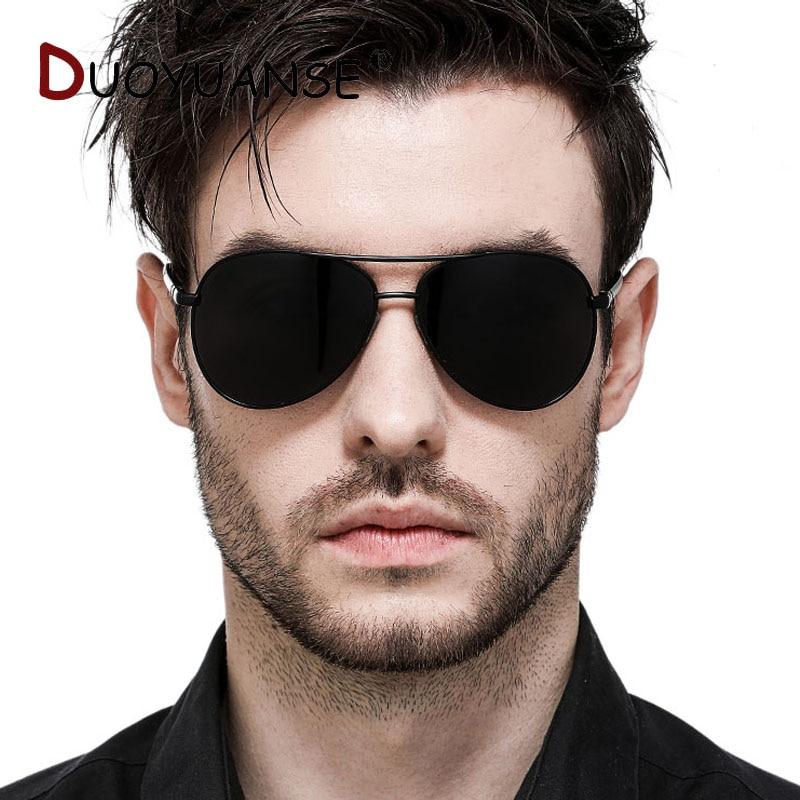 Nya män klassiska polariserade solglasögon aluminium magnesium - Kläder tillbehör - Foto 6