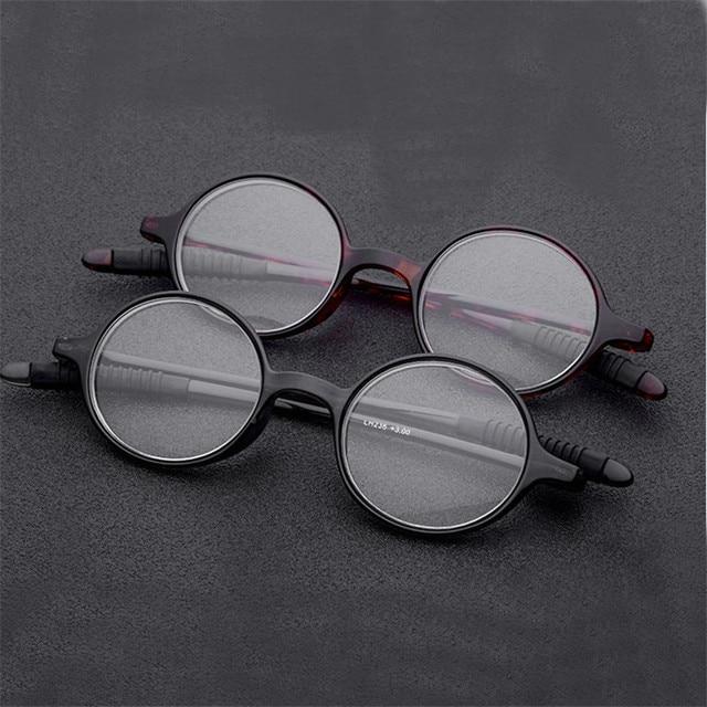 205ce08933a MINCL Fashion Italy Design TR90 Retro Round Frames Reading Glasses Men Women  Retro Style Optical Glasses Unisex Eyewear FML