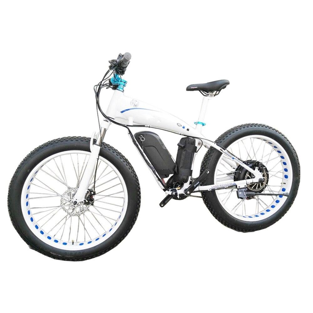 Bicicleta eléctrica de nieve de 26 pulgadas personalizada ebike 4,0 llanta li-ion batería 48v1500w Velocidad máxima 70 km/h fuera de carretera EBIKE MTB