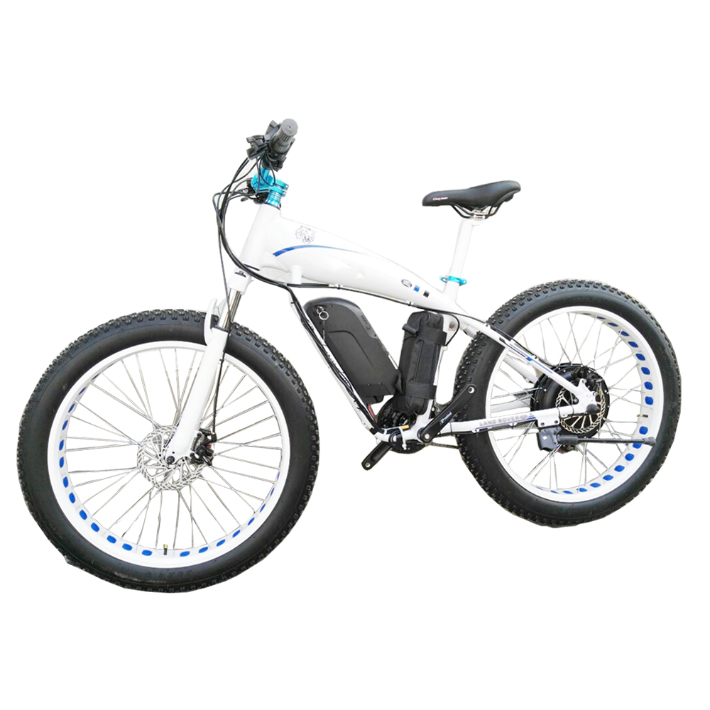 Personalizado 26 polegada neve gordura bicicleta elétrica ebike 4.0 pneu bateria li-ion 48v1500w velocidade Máxima 70 kmh off-road MTB EBIKE