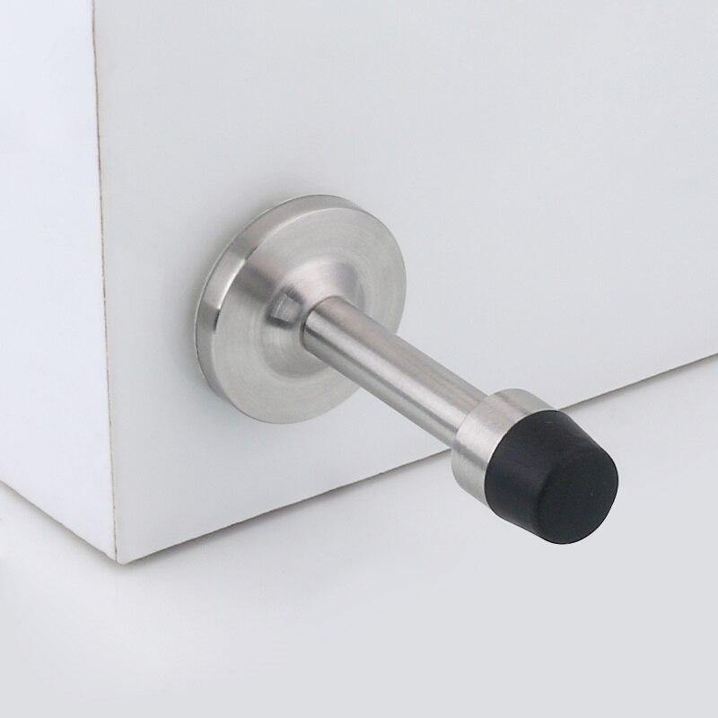 New Listing Stainless Steel Rubber Door Stopper Door Stop