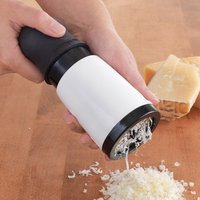 Stainless Steel Cheese Grater Kitchen Gadgets Chocolate Grater Hand Operated Tools With 2 Differnt Blades