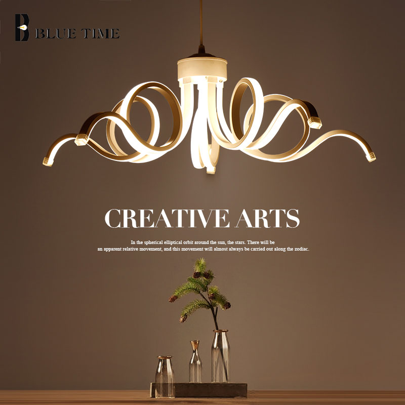 Modern LED Chandelier For Dining room Living room Kitchen Lamp White Led Ceiling Chandelier Lighting Fixtures Lamparas de techo