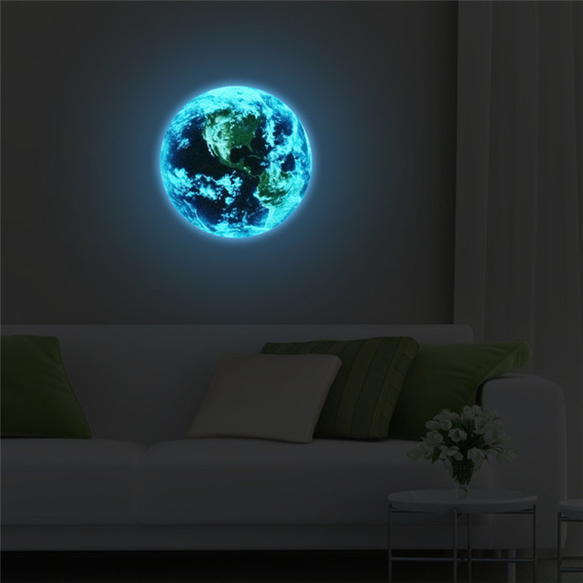 Luminous Blue Earth 8