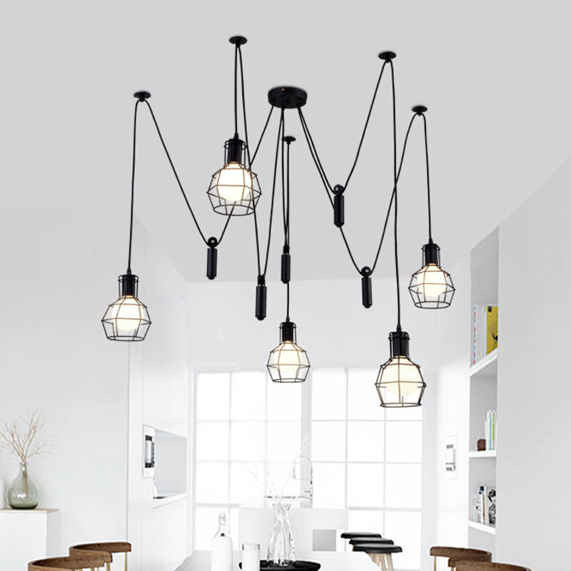 pendant lights Industrial dining room kitchen restaurant lighting fixtures Vintage Pendant Lamp