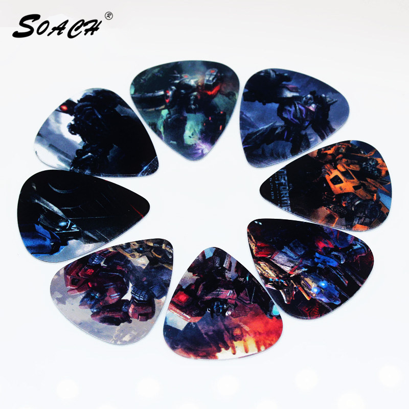 SOACH 10pcs/Lot 1.0mm thickness <font><b>guitar</b></font> paddle/ <font><b>guitar</b></font> <font><b>parts</b></font> Musical instrument accessories <font><b>string</b></font> guitarra picks image