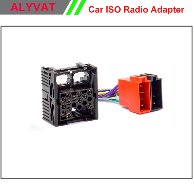 car iso stereo wiring harness for bmw e46 3 series land rover rover rh aliexpress com bmw stereo wiring diagram e46 bmw radio wiring diagram