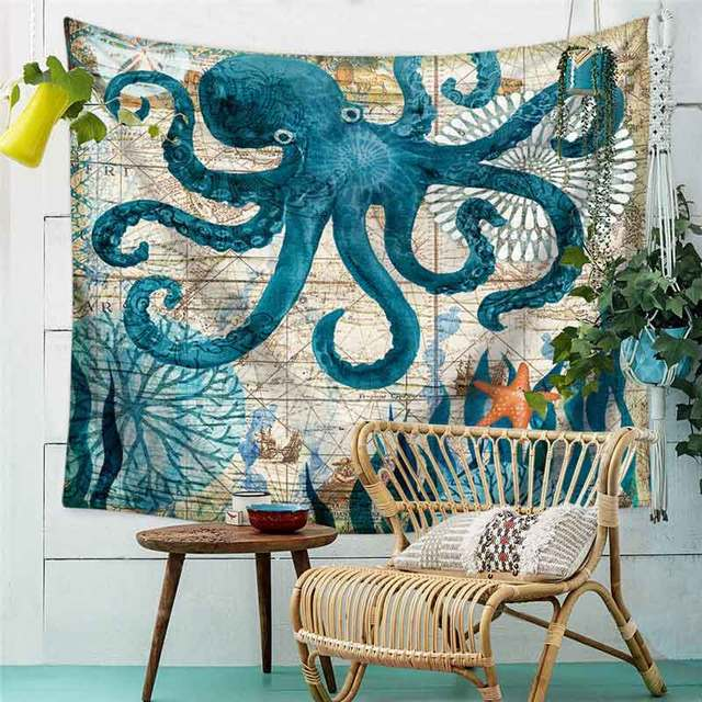 SEA WORLD WALL TAPESTRY