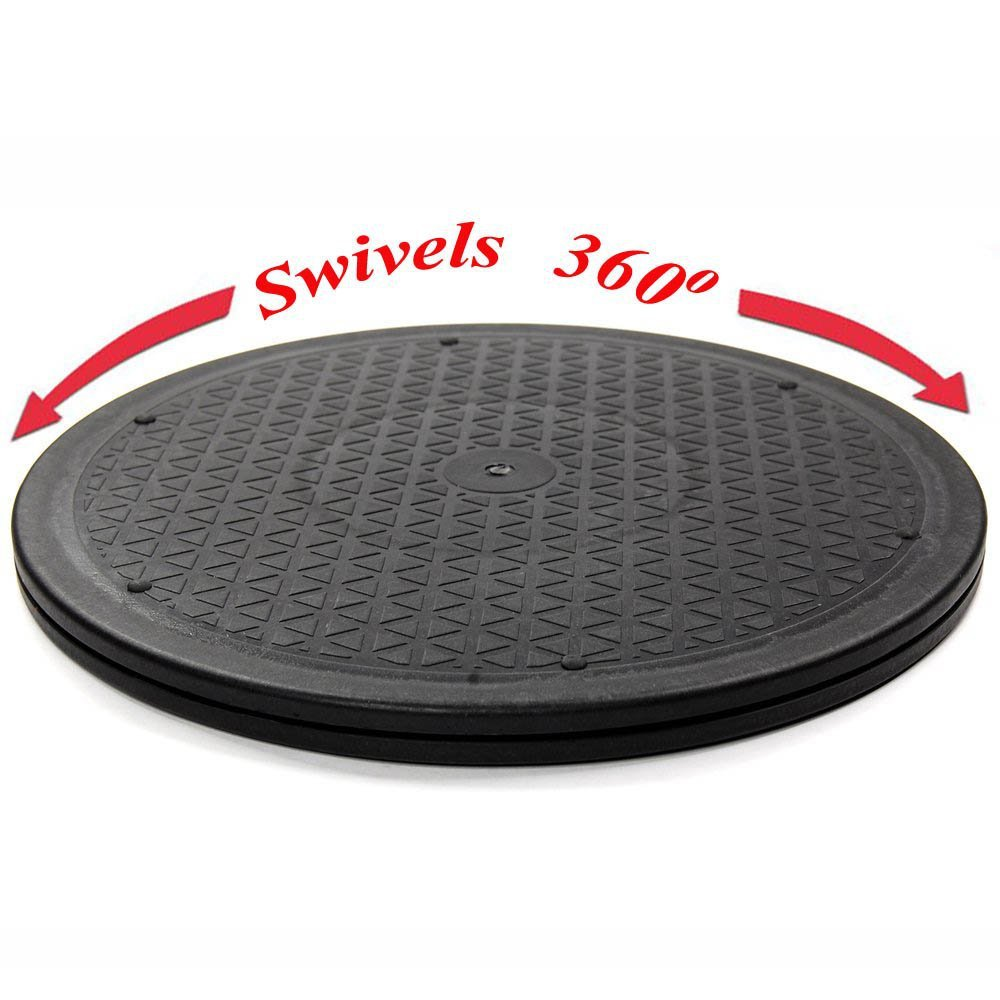 15inch Heavy Duty Swivel -for Big Screen TVs & Large Flat Panel Monitors with Steel Ball Bearings for Indoor/Outdoor Use