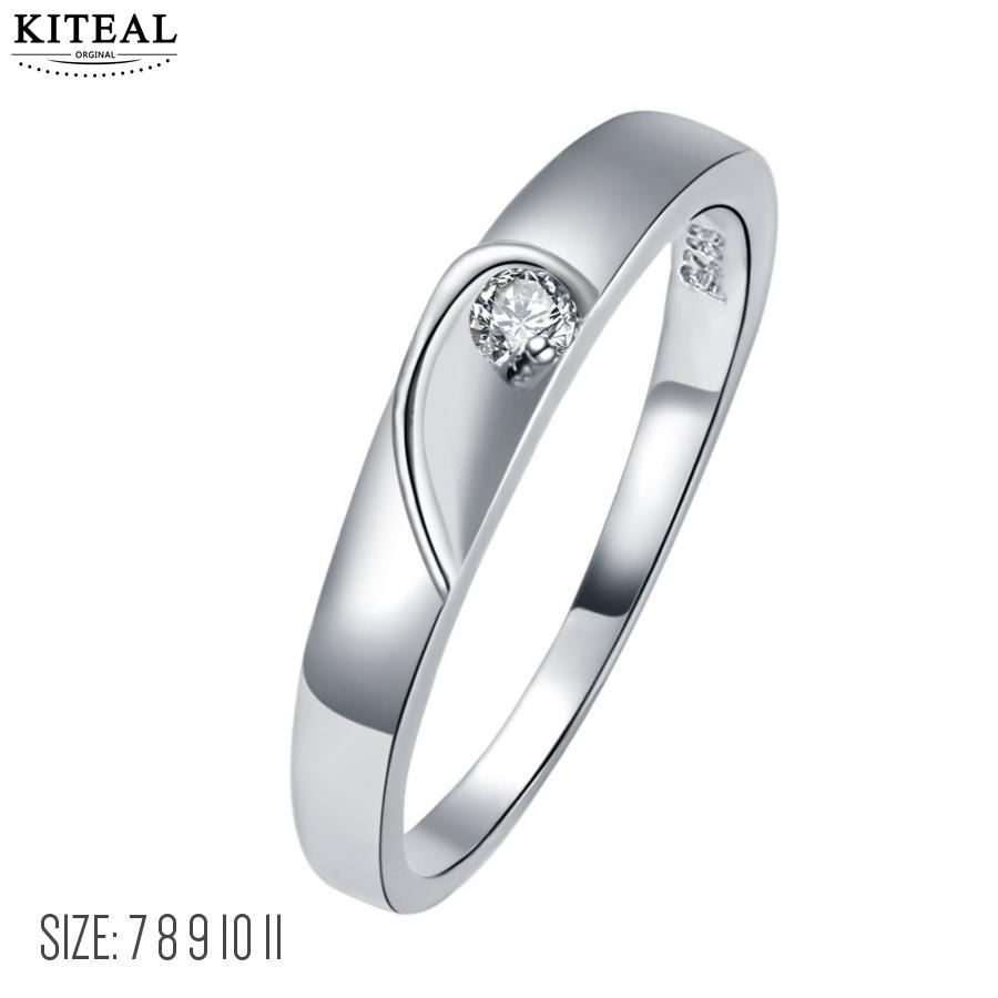 Kiteal Gorgeous Silver Plated White Size 7 8 9 10 11 Aaa Zircon Wedding Rings Simple Austrian Crystals Gift For Femalein Engagement From Jewelry: Gorgeous Simple Wedding Rings At Reisefeber.org