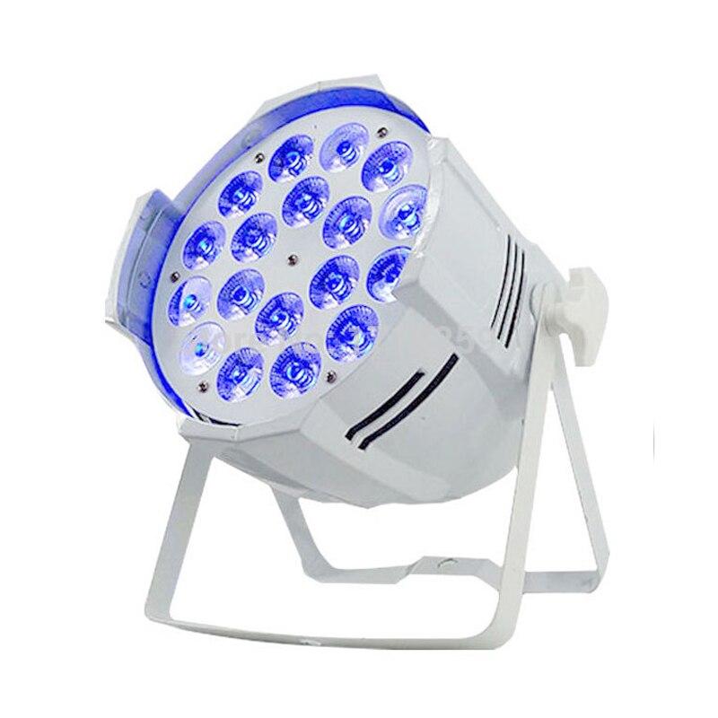 18x18W RGBWA UV 6IN1 Led Par Light 10 Channel Stage DJ Equipment Disco Lights KTV DJ DMX Controller Party Stage Light|Stage Lighting Effect| |  - title=