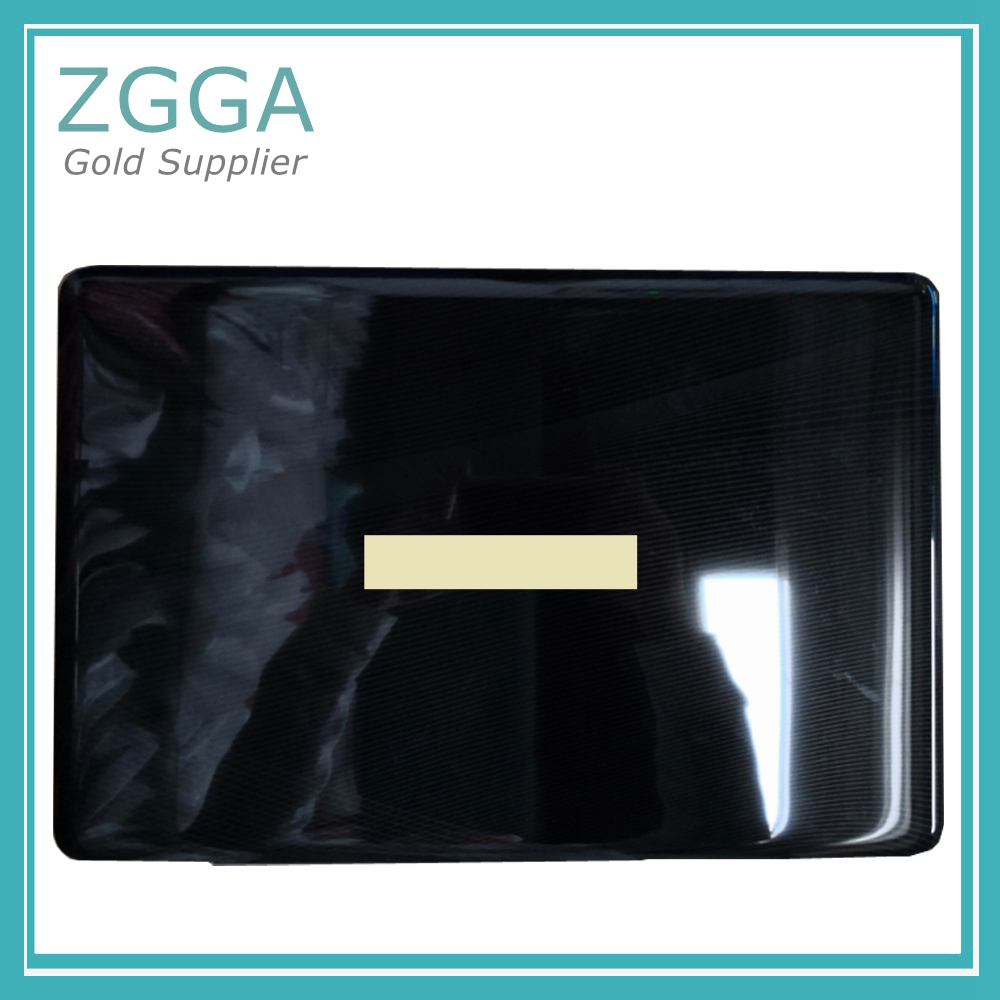 Original Laptop LCD Rear Lid For TOSHIBA Satellite P500 P505 Back Cover Top Case genuine new for asus g752 g752v g752vl g752vm g752vs g752v laptop lcd rear lid back aircraft cover top case shell metal material