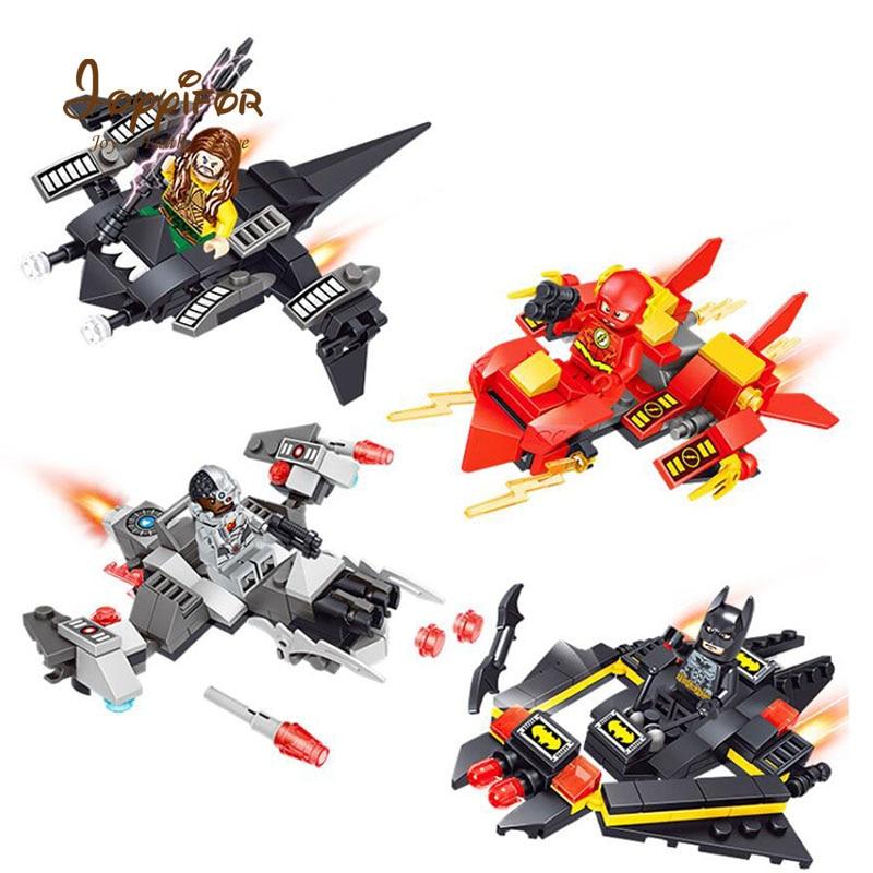 Kenntnisreich Superhero Diy Modell Bausteine Kompatibel Mit Legoingly Mini Figuren 4 Stücke Set Dc Charakter Aquaman Batman Mit Fly Zur Verbesserung Der Durchblutung