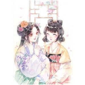 Image 3 - Livro de colorir do estilo chinês da cidade caída anti stress e tutorial para colorir para adultos/crianças/crianças