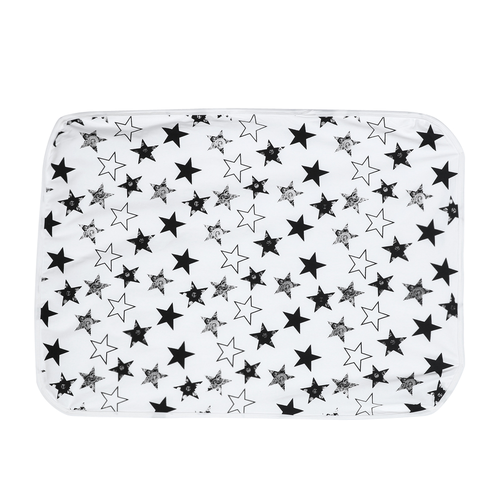 Muslin Cotton Baby Swaddles Infant Swaddle Wrap Star Printed Swaddling Blanket Sleeping Bag Bath Towel