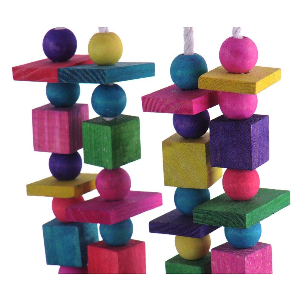 Papagei Vogel Spielzeug Qualität Große Hölzerne Seil Cave Voliere ...