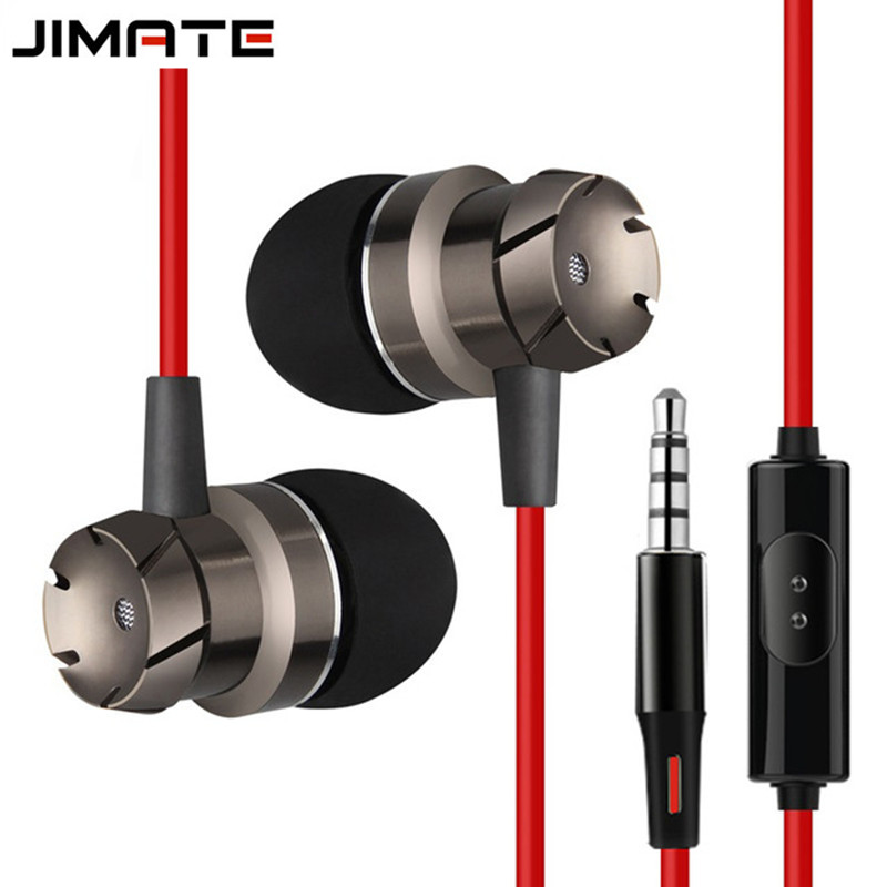 In-ear Head phone 3.5mm Stereo Headset Build-in Microphone