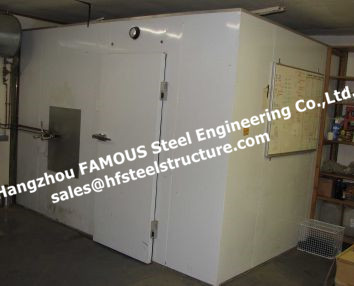 Insulated Walk In Freezer And Chiller Cold Rooms For Vegetables Individual Quick Freezer And Refrigeration Freezing Room