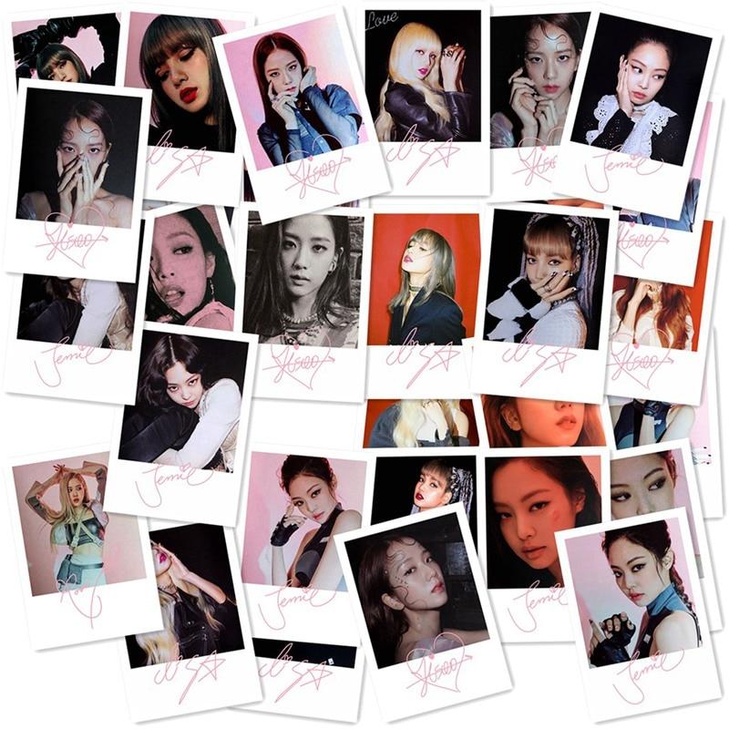 Blackpink Mini Album Photocard Lisa Rose HD Lomo Photo Card Kill This Love Jennie Jisoo Collective