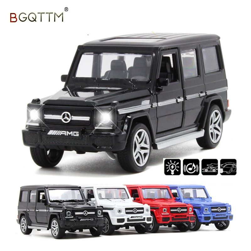 NEW High Simulation Luxury Suvs G65 AUTO 1:36 Diecast Metal Alloy Pull Back Cars Toy Pull Back Acousto-Optic Model Car Best Gift rambo lp 750 toy alloy car models 1 32 simulation children acousto optic car model