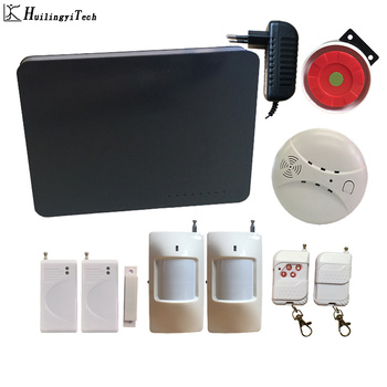 цена на 433Mhz Wireless GSM Alarm System Home Security RFID House Burglar Security Sensor kit English Russian Voice Home Alarm System