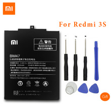 XiaoMi BM47 Original Mobile Phone Battery For Xiaomi Redmi 3S Replacement 4000mAh Capacity Battery For Redmi 3X Hongmi 3 S