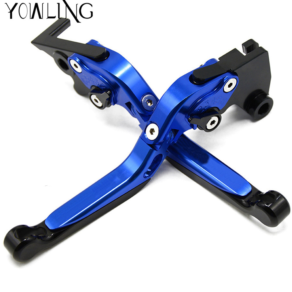 Motorcycle CNC aluminum Adjustable Brake Clutch Levers For SUZUKI GSX-S750 2015 2016 2017 Brake Lever Clutch Handle new hot fashion unisex women men hipster vintage retro classic half frame glasses clear lens nerd eyewear 4 colors
