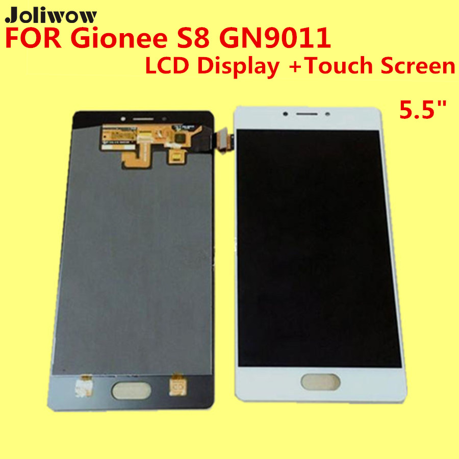 De alta calidad para gionee s8 gn9011 lcd display + touch screen reemplazo digit