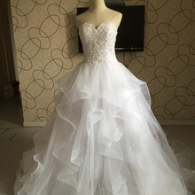 BRITNRY Real Photos Ball Gown Wedding Dresses Dresses 2018