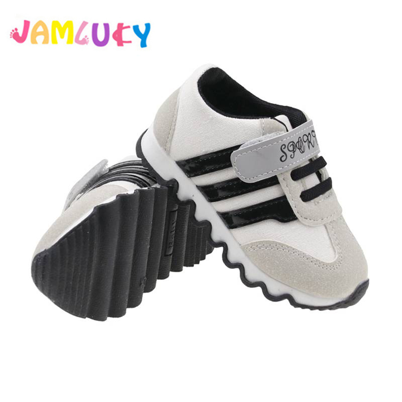 Zapatillas de deporte para niñas Zapatos Niños de rayas negras de - Zapatos de niños