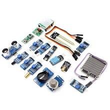 16 kinds of sensors Kit for PI2 PI3 raspberry pie raspberry pi 2 module Model B KY-008 HC-SR04 Free Shipping