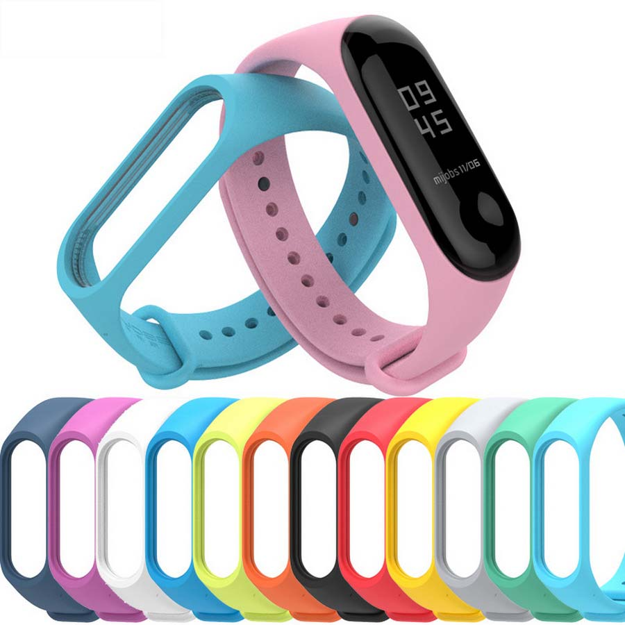 Bracelet Miband3-Strap Watch Silicone 3-Accessories Xiaomi for 1000pcs