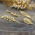 Quatro Conjuntos de Acessórios Para o Cabelo Para A Senhora das Mulheres Folhas Douradas Hairpin Bela Jóia Do Casamento Da Forma 2016 Nova Frete Grátis