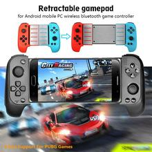 DSstyles Gamepad Android Wireless Bluetooth Game Controller Telescopic Gamepad Joystick for Samsung Xiaomi Huawei Android Phone PC wireless bluetooth game handle controller telescopic gamepad joystick for android iphone 8 x phone gaming console accessories