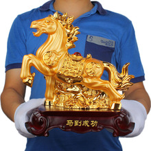 A twelve opening Feng Shui Zodiac horse ornaments jewelry display Home Furnishing birthday gifts