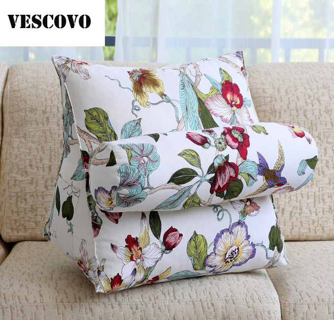 Fotos De Sofas Con Cojines.Us 57 85 11 Off Vescovo Large Back Sofa Cushion Bedside Cojines Sofa Pillow For Sofas In Cushion From Home Garden On Aliexpress Com Alibaba