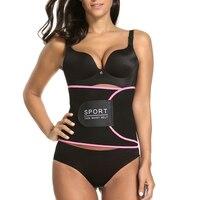 Fitness Corset Neoprene Waist Trimmer Safely Body Shaper One Size Waist Trainer Belt Men Women Exercise