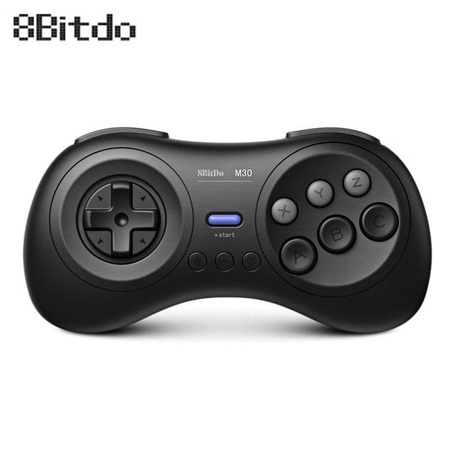 8Bitdo M30 Bluetooth Game Controller Sega USB Gamepad Game Joystick Game Controller  for Switch PC MAC Steam Fighting games