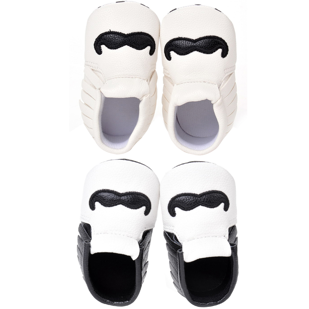 Baby Shoes PU Leather Moccasins Tassel First Walkers Anti-slip Footwear Newborn Shoes Soft Infants Crib Sneakers First Walker