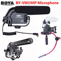Free shipping!!! BOYA BY-VM190P Stereo Video DSLR Camera DV Audio Recorder Shotgun Microphone VM-190P VM190P