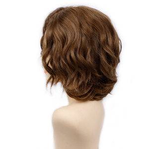 Image 3 - Amir Short Wavy Bob Wig Synthetic Hair Wigs For Women Cosplay Wigs Blown and Blonde wig