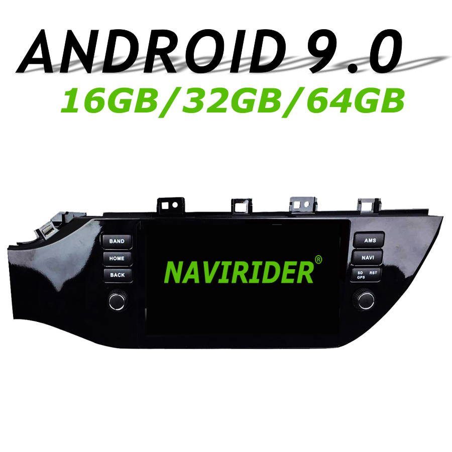 Navigation GPS Navirider pour KIA k2 RIO KX CROSS IV 2017 voiture full touch android 9.0 8 core 64 gb rom radio lecteur bluetooth stéréo