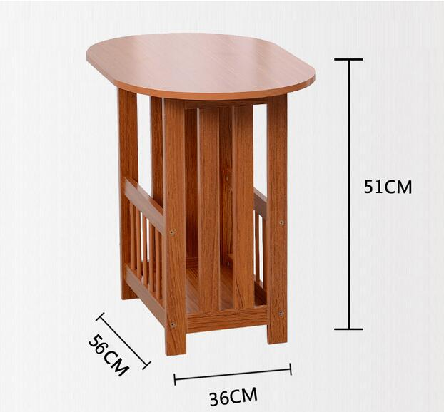 Eco Friendly Solid Wood Tea Table Multipurpose Side Tables Creative Coffee  Tables Living Room Furniture