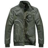 Mens Spring Fashion Army Green Jacket Casual Brand Clothing Tactical Military Bomber Jackets Men Slim Fit