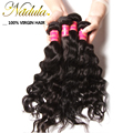 4 Bundles 7A Indian Virgin Hair Natural Wave Indian Wavy Human Hair Weave Indian Natural Weave Unprocessed Human Hair Extensions