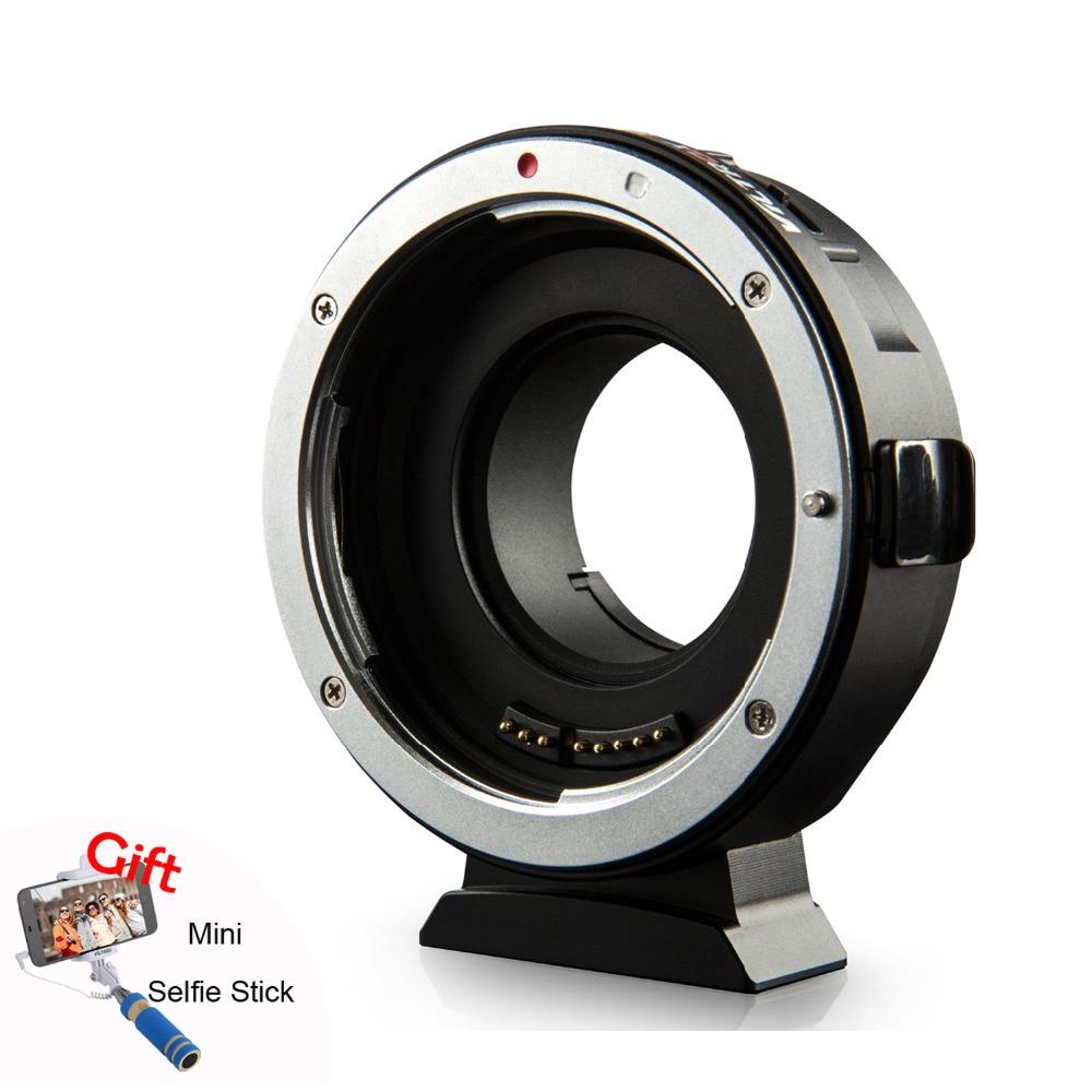 Viltrox EF-M1 Mise Au Point Automatique Exif Lentille Adaptateur pour Canon EOS EF EF-S Lentille à M4/3 Caméra GH4 GH5 GF6 GF1 GX1 GX7 E-M5 E-M10 E-PL5