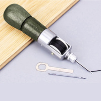 133mm Leather Craft Tool Super Carving Wax Line Hand Made Leather Tools Art Needle Sewing Machine