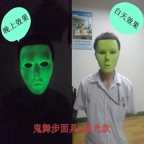 Aliexpress.com : Buy Halloween mask, men's street dance, make up ...