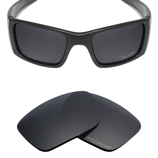 d16e90084eb Mryok+ POLARIZED Resist SeaWater Replacement Lenses for Oakley Fuel Cell  Sunglasses Stealth Black